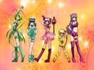 Tokyo Mew Mew group transformation pose