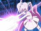 Kamichama Karin Aphrodite using an attack