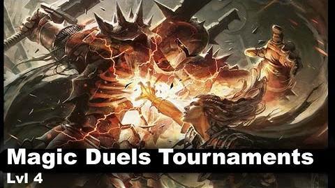 Lvl 4 Magic Duels tournaments