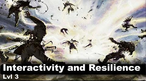 Lvl 3 Interactivity and resilience