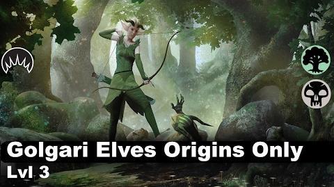 Lvl 3 Golgari Elves (Origins Only)