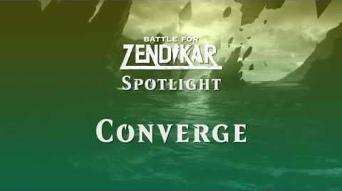 Battle for Zendikar - How does Converge work?