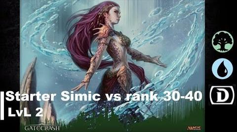 Lvl 2 Simic Starter only vs 30-40 rank