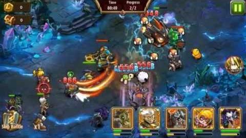 Magic Rush Heroes Crystal Dungeon PASSED lvl 125 NO VIP