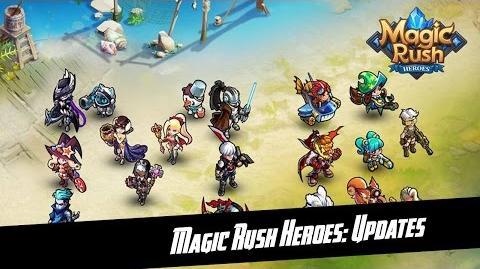 Magic Rush Heroes New Update 1.1.83.68 + New Hero Delphos + Walktrough Talent & Ancient Ruins