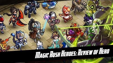 Magic Rush Heroes Delphos in War Guardian Map TD