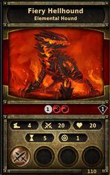 Fiery-hellhound