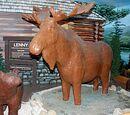 Lenny, the Chocolate Moose