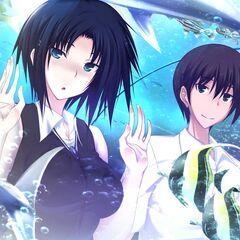 Lee and Yamato- Aquarium Date (Majikoi A-3)