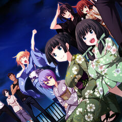 Kazama Family and Sayaka- Summer Festivities (Majikoi A-1)