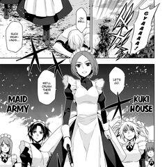 Azumi, Jinchu and Stacy- Rampaging in the Kawakami War (Manga)