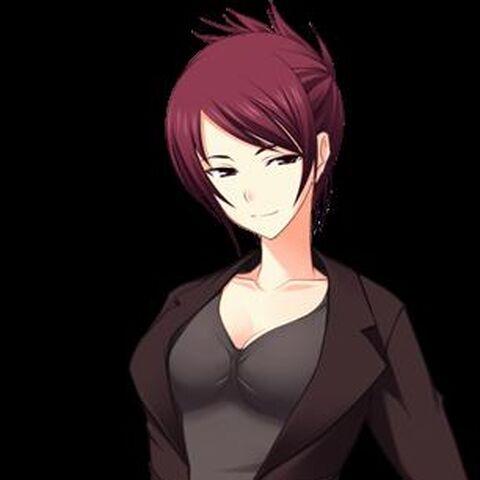 Umeko in her teacher outift