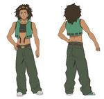 Antonio Character Design - Normal