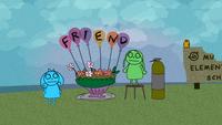 Celebration of friendship