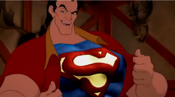 Gaston is superman by segagenesis4100-d48tbcu