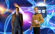 Dr. who and capt. kirk