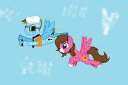 Sandvich33 X Lydia as Ponies 3