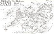 Map Seven Cities detail