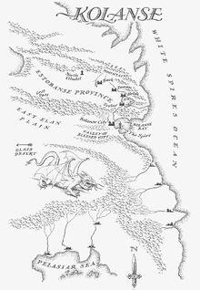 Map Kolanse