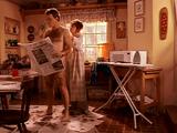 Lois' Debut, shaving Hal's back. (YECGH!!!)