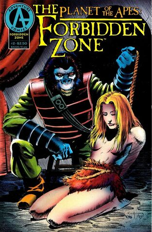 File:Planet of the Apes The Forbidden Zone Vol 1 2.jpg