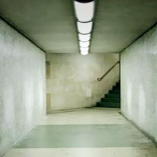 The empty substation.