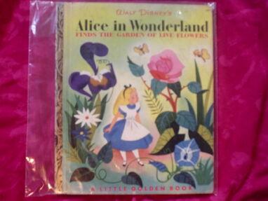 Alice in Wonderland Finds the Garden of Live Flowers