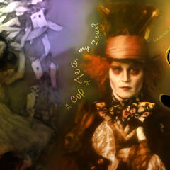 Wallpaper of the Hatter.