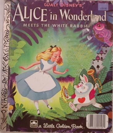 Alice in Wonderland Meets the White Rabbit