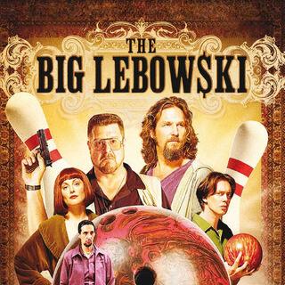 Big Lebowski poster.