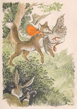 Brushtail the Fox - Milo Winter - Project Gutenberg eText 18667