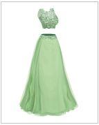 Soft green dress
