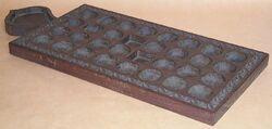 Bao board from zanzibar