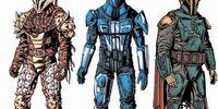 Types of Mandalorian Armor