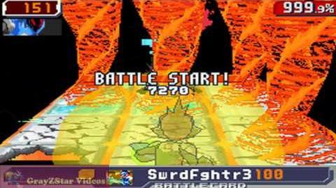 Megaman Starforce 3 (X) - Apollo Flame Sigma