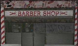 Barber shop p&b