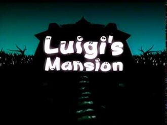 Luigi's Mansion E3 2001 Trailer