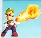 Fire elemental Luigi