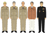 Ross PLA high command members (New World Map Game)