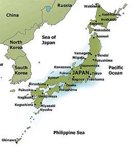 Japan-map