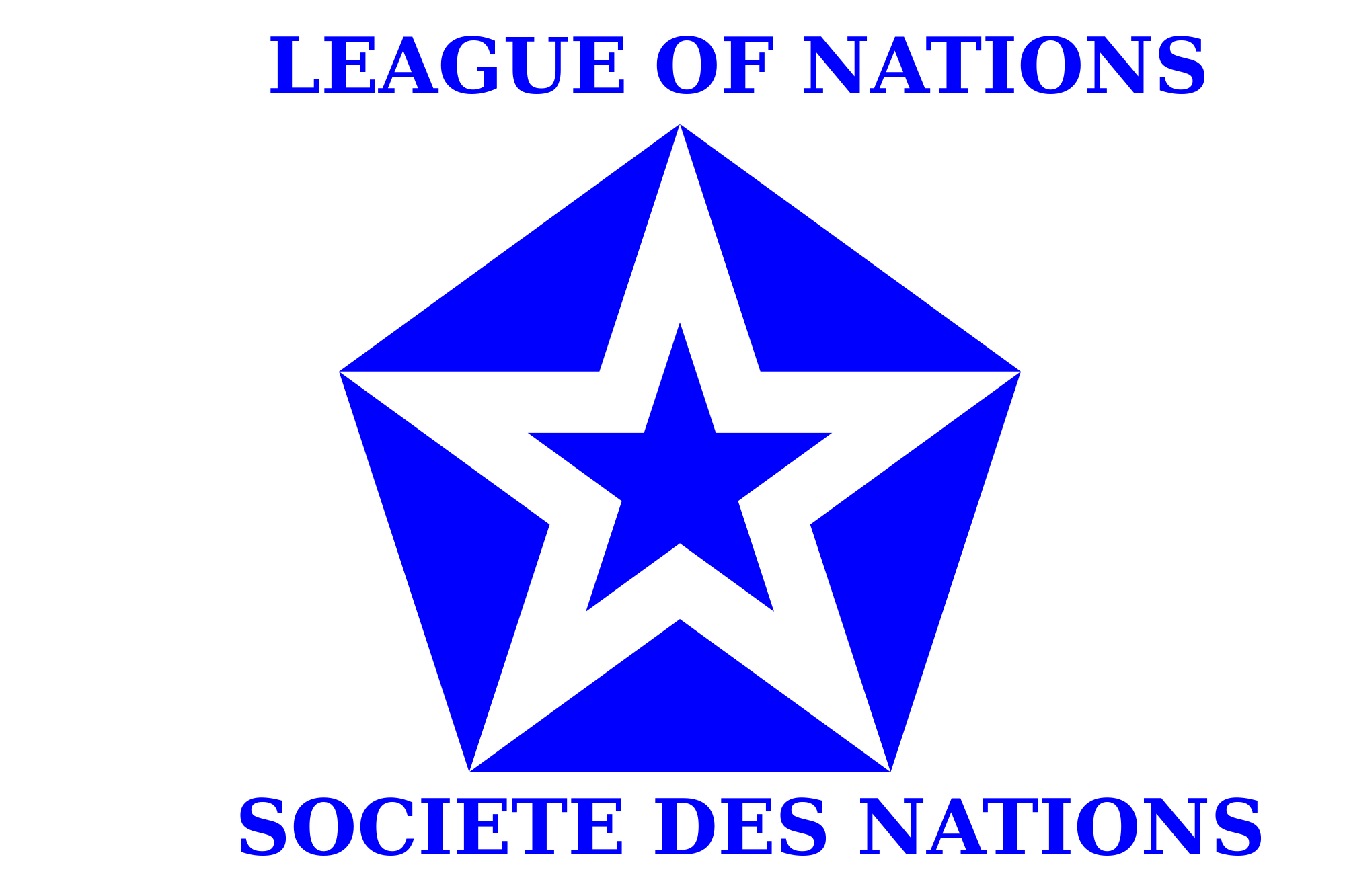 Image symbol of the league of map game for League table 6 nations