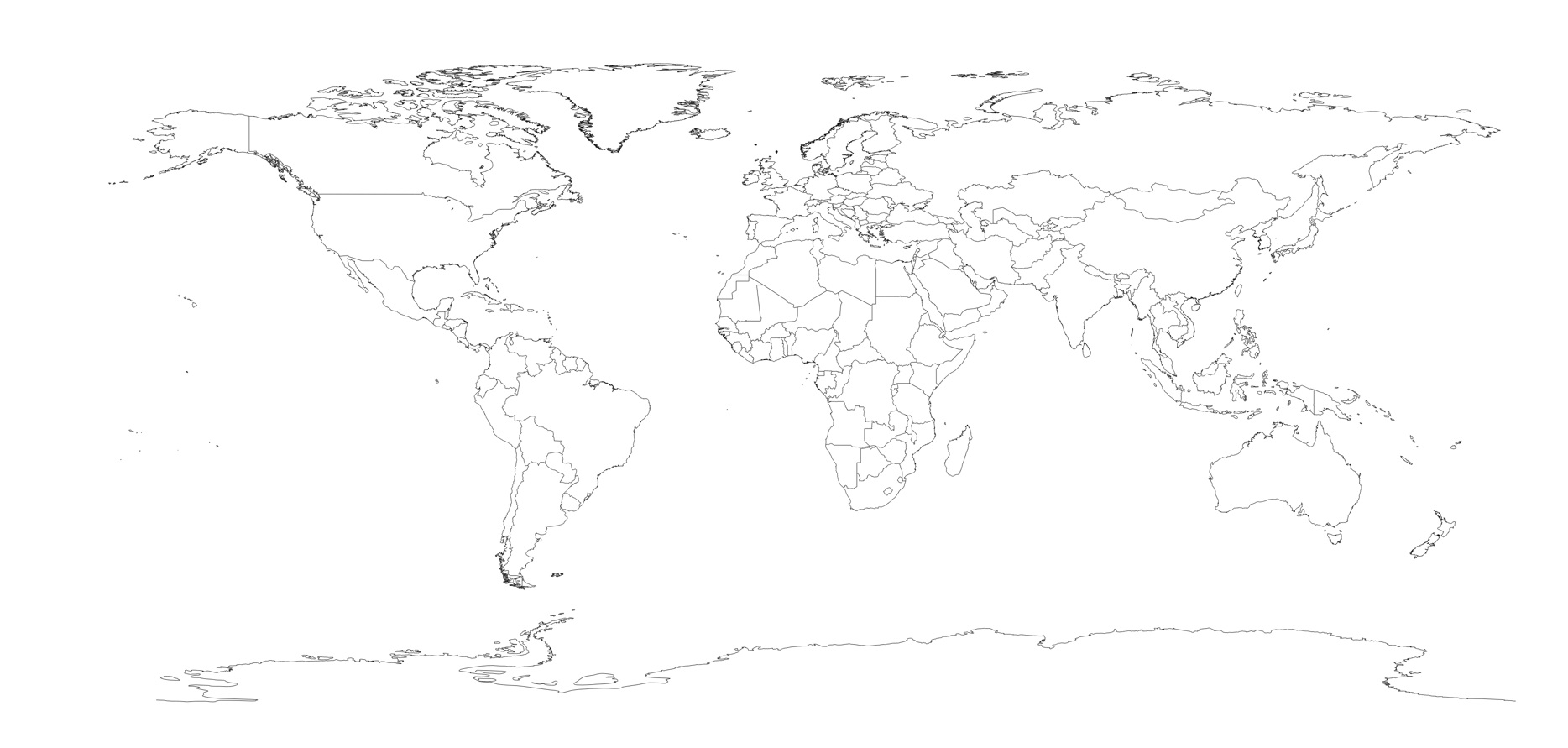 World map outline high resolution madohkotupakka gumiabroncs Image collections
