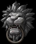 NPC Lion King Guardian Statue