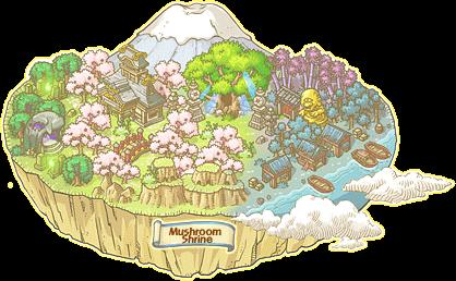 WorldMapLink (Zipangu)-(Mushroom Shrine)