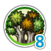 Mid forest 8 icon