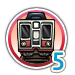 Subway 5 icon