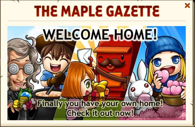 Maplegazette welcome home