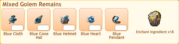 Mixed Golem Collection