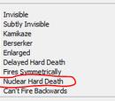 Nuclear Hard Death