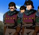 Soldados de la Cross Guard